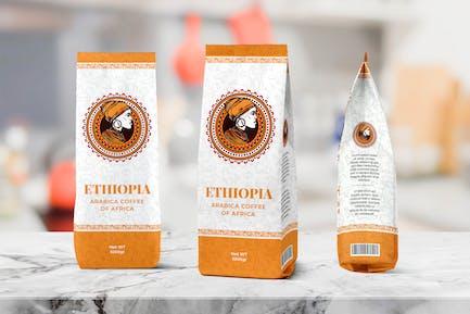Kaffeebeutel VerpackungsVorlage