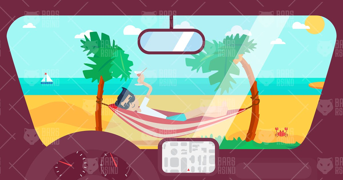 Download By Car To The Beach by barsrsind