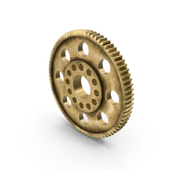 Thumbnail for Aged Brass Spur Gear