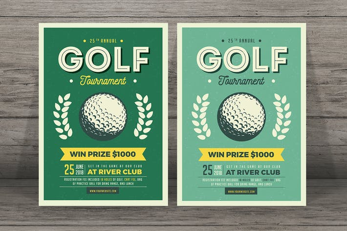 Thumbnail for Vintage Golf Flyer