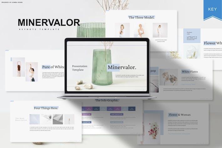 Minervalor | Keynote Template