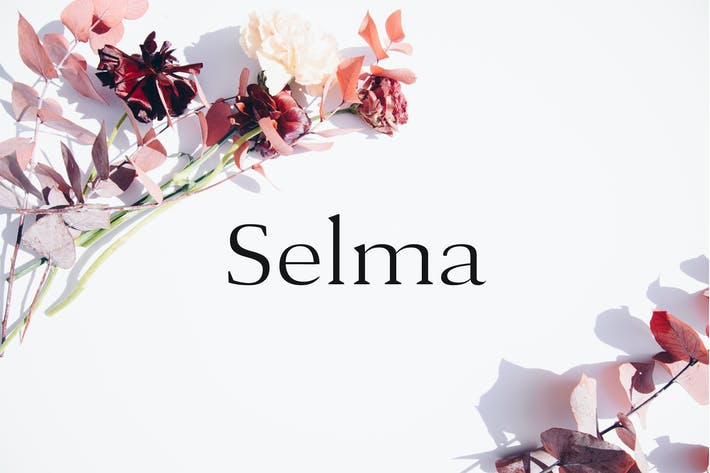 Thumbnail for Selma - A Classy Serif Typeface