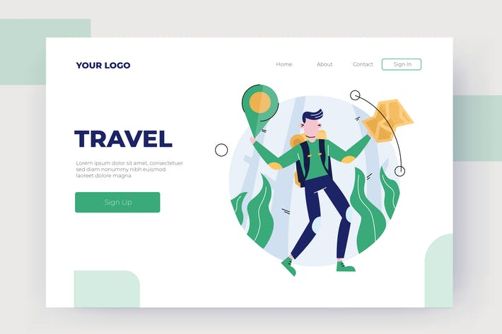 Thumbnail for Travel- Vector Illustration