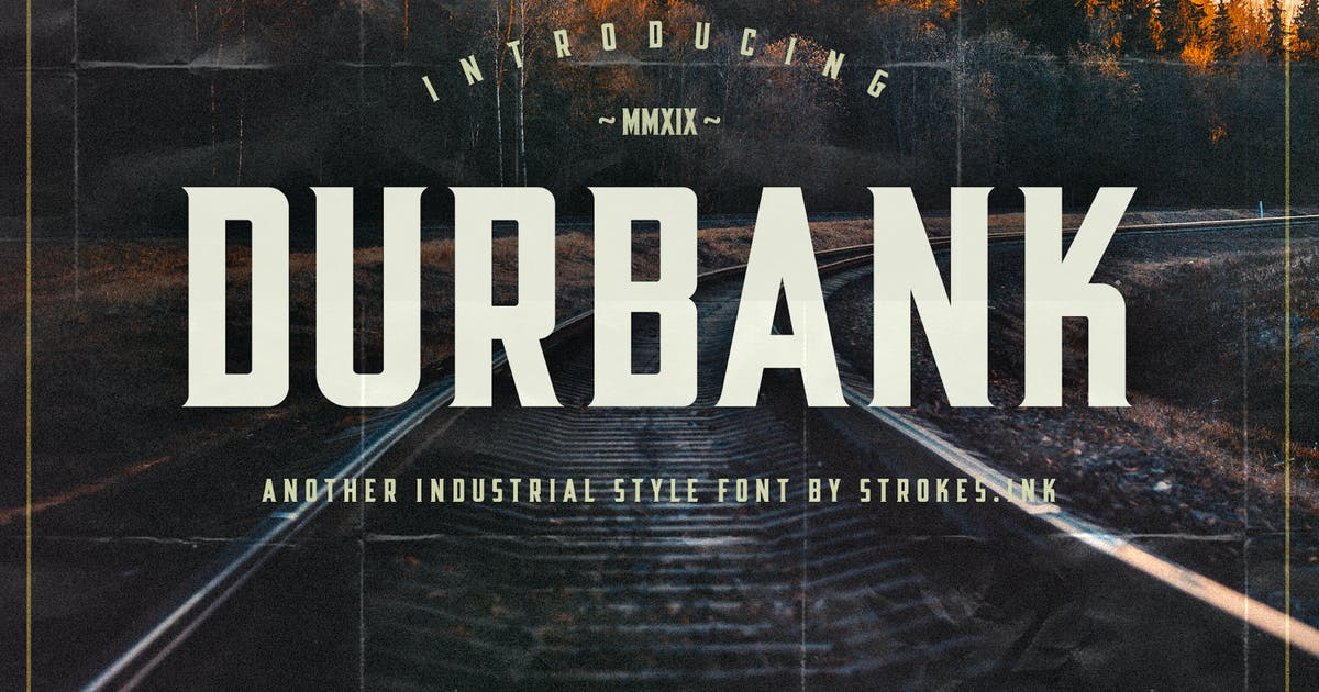 Download Durbank Font by Slidehack