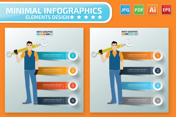 Thumbnail for Engineering Infographic Design