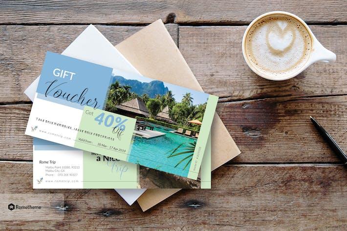 Thumbnail for Travel Gift Voucher Card vol.01