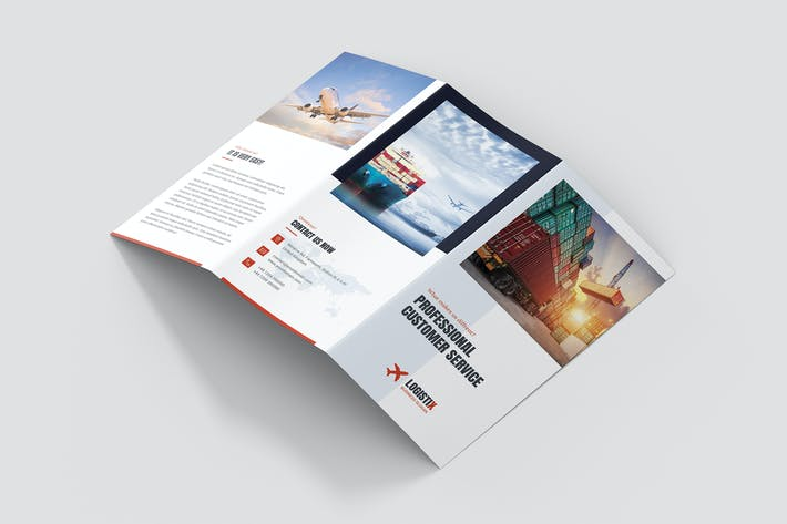 Cover Image For Brochure – Transport Logistic Tri-Fold