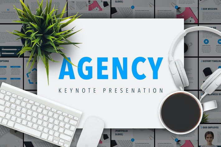 Thumbnail for Agency Showcase Keynote Template