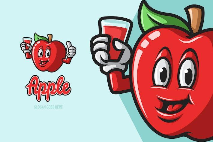 Apple - Mascot Logo