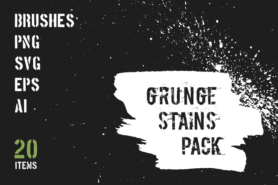 Grunge Stains Pack