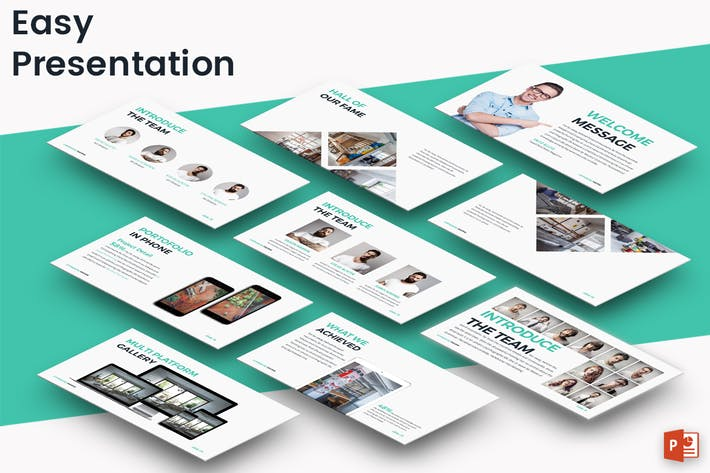 Thumbnail for EASY - Powerpoint Presentation Template