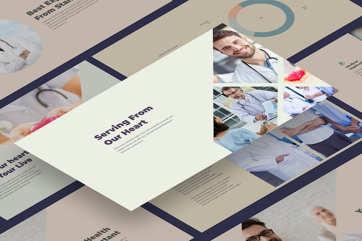 Medex - Medical and Health Presentation Templates