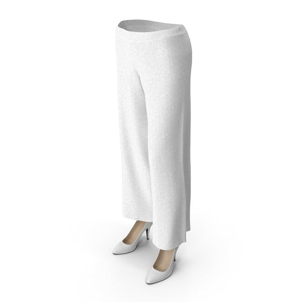 Thumbnail for Women's Pants and Shoes White
