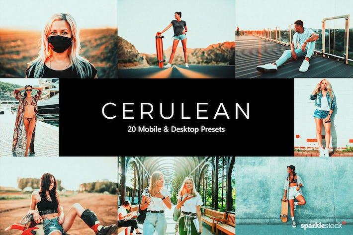 Thumbnail for 20 Cerulean Lightroom Presets & LUTs