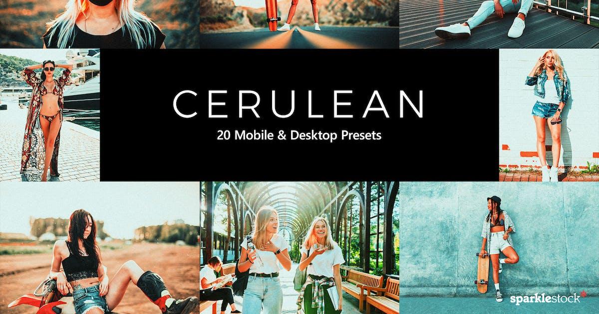 Download 20 Cerulean Lightroom Presets & LUTs by sparklestock