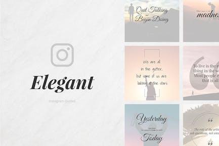 Elegant Instagram Quotes