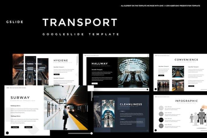 Thumbnail for Transport - Google Slides Template