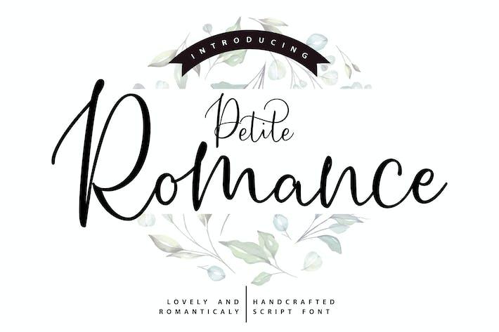 Thumbnail for Petite Romance | Handcrafted Script Font
