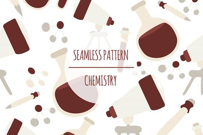 Chemie — Nahtlose Muster