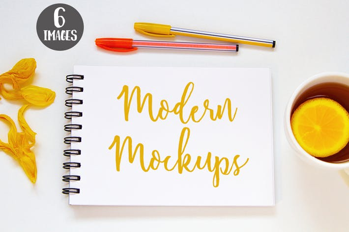 Thumbnail for 6 photo mockups. Styled stock photography