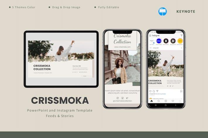 Crismoka  - Keynote & Instagram Template
