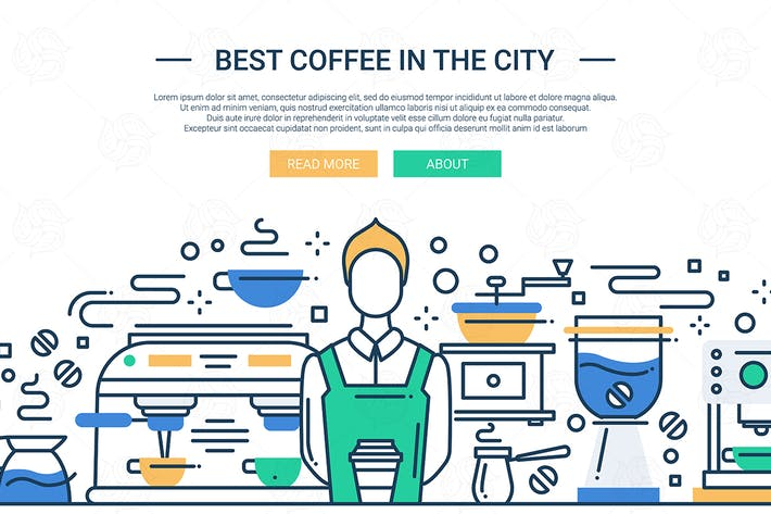 Thumbnail for Best Coffee Shop In the City - website banner