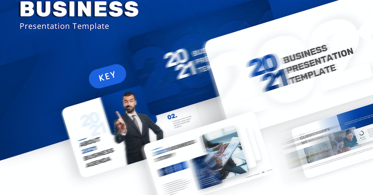 Download 2021 Business Keynote Template by jegtheme