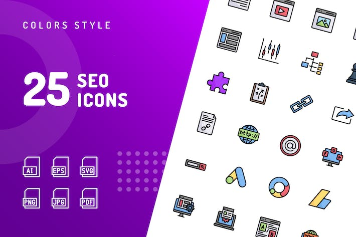 Thumbnail for SEO Color Icons