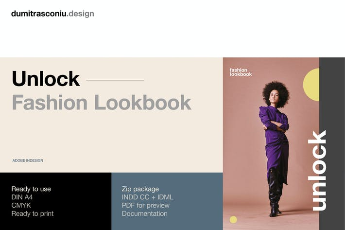 Unlock Fashion Lookbook By Digital Infusion On Envato Elements