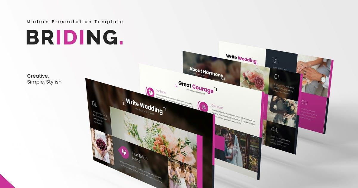 Download Briding - Powerpoint Template by vincentllora