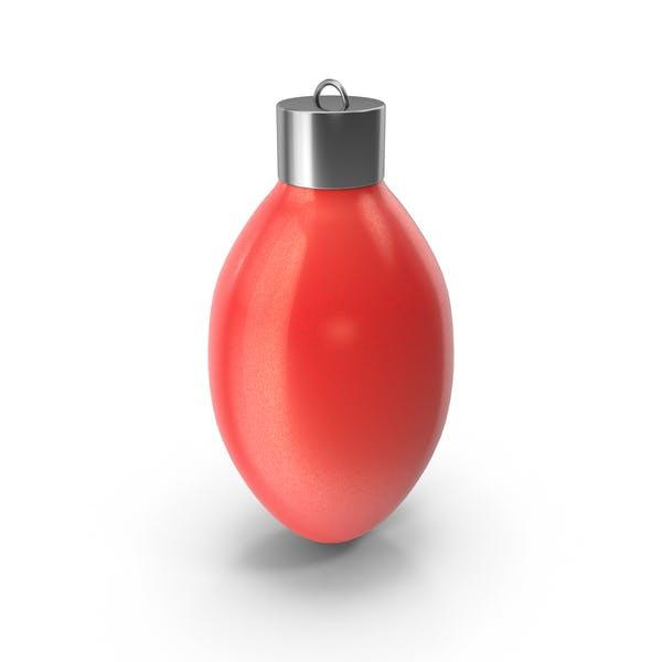 Weihnachtsbaumkugel rot