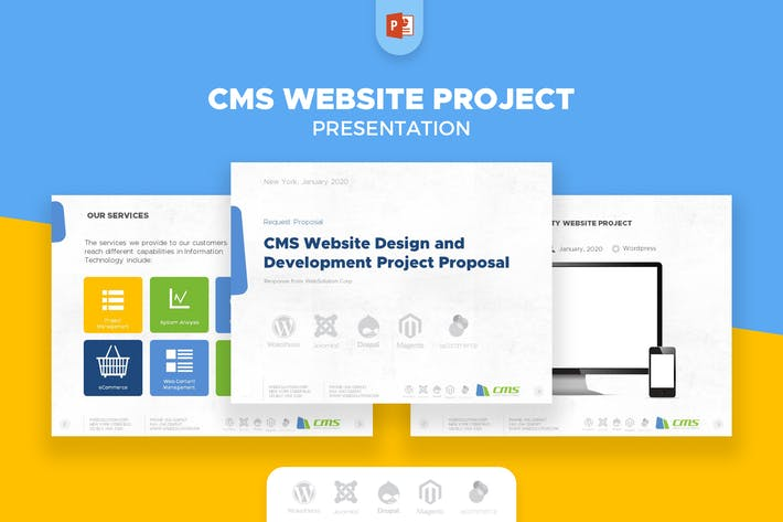 Thumbnail for CMS WEBSITE SERVICE PRESENTATION