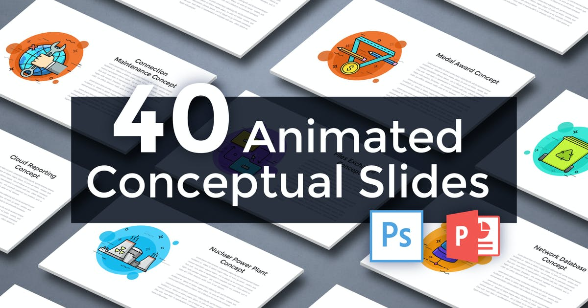 Download 40 Animated Conceptual Slides for Powerpoint p.5 by Andrew_Kras
