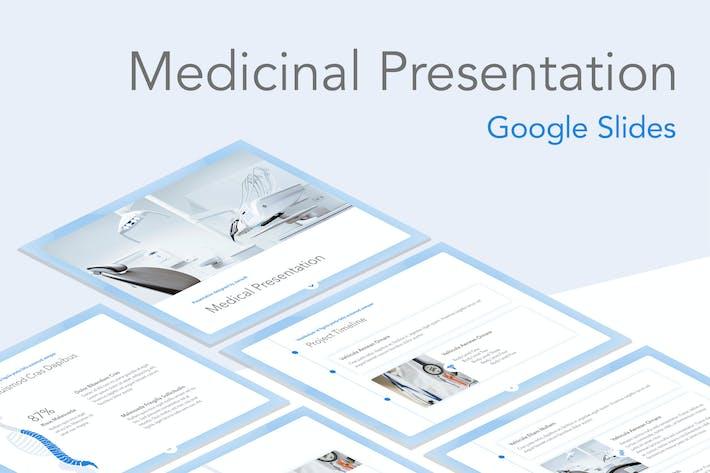Medicinal Google Slides Template