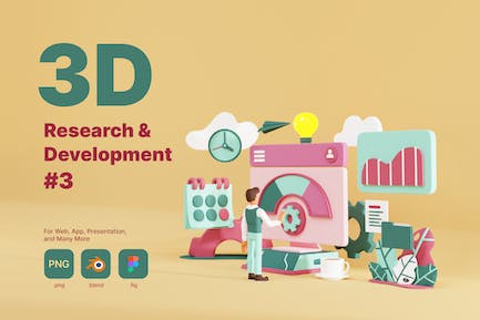 3D Research and Development - 3