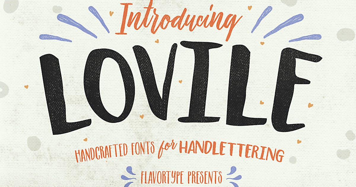 Download Lovile Type by Flavortype