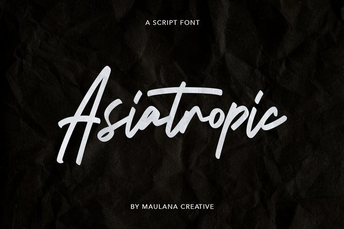 Thumbnail for Fuente Asiatropic Script