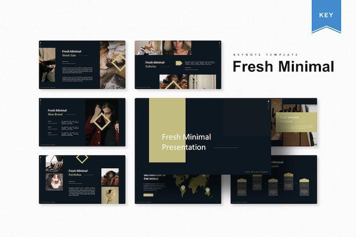 Thumbnail for Fresh Minimal | Keynote Template