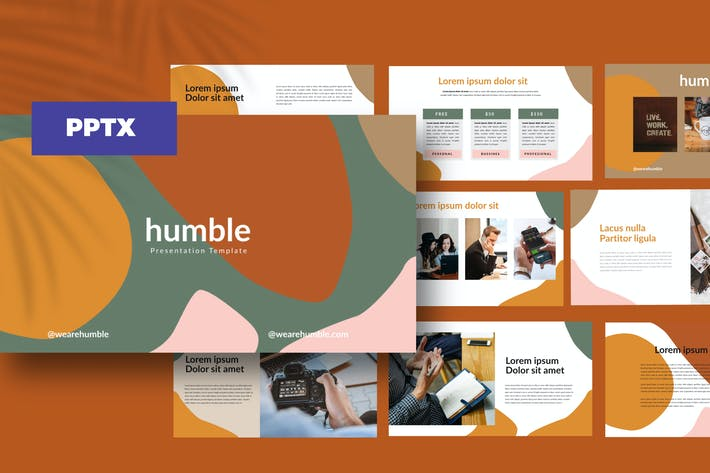 Thumbnail for humble! - Powerpoint  Business Corporate