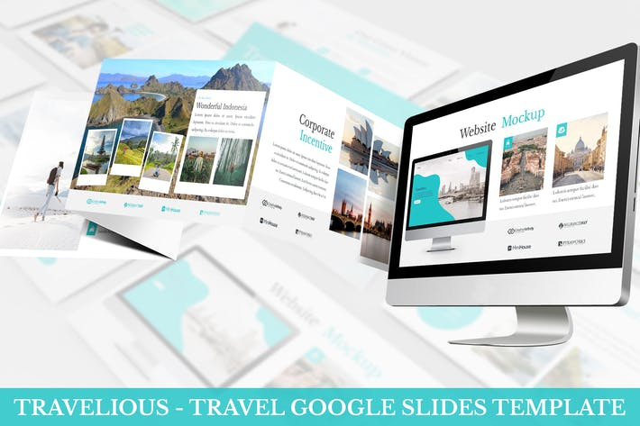 Thumbnail for Travelious - Travel Google Slides Template