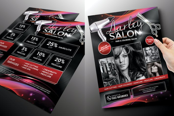 Thumbnail for Salon Flyer