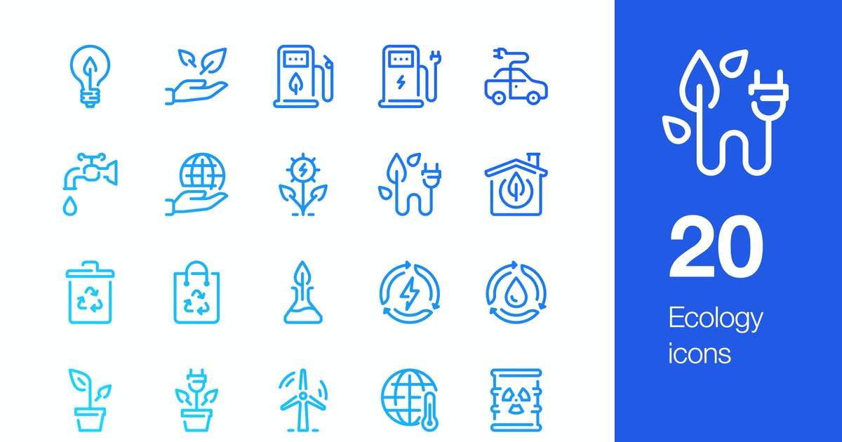 Download 20 Ecology icons by mir_design