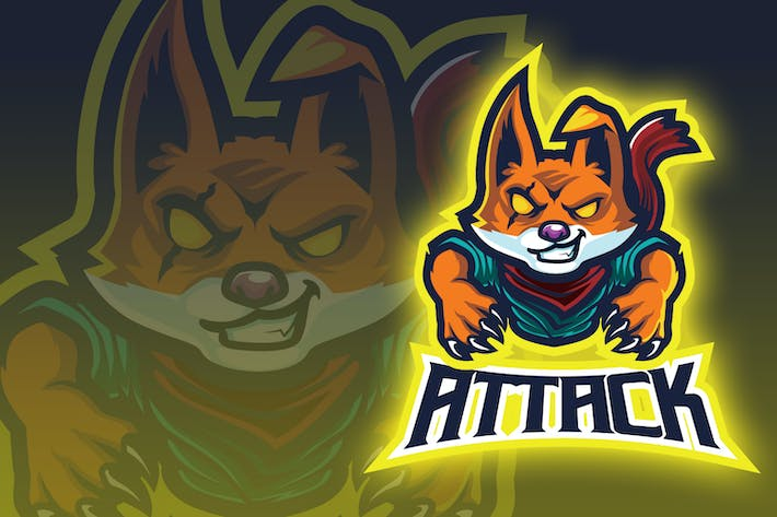 Assassin Fox Esport Logo