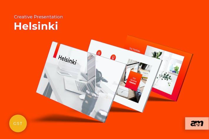 Thumbnail for Helsinki Creative Google Slides