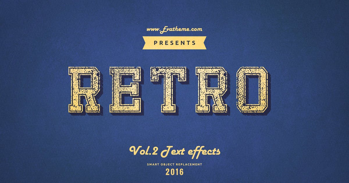 Download Retro Style Text Effects Vol.2 by annabalashova