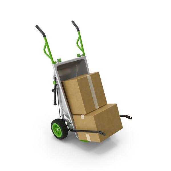 Thumbnail for Garden Cart with Cardboard Box