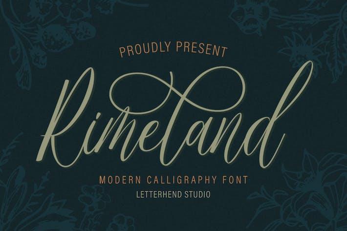 Rimeland - Современная каллиграфия