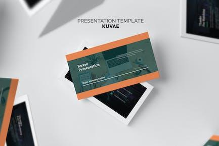 Kuvae : Digital Marketing Proposal Google Slides