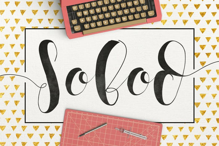 Thumbnail for Sobod Typeface