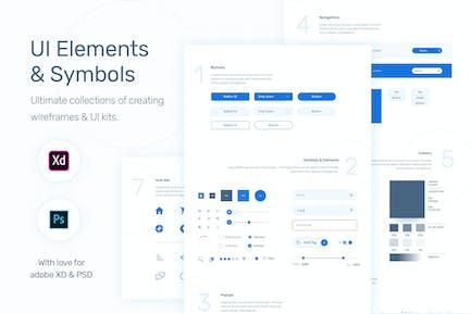 UI Elements & Symbols